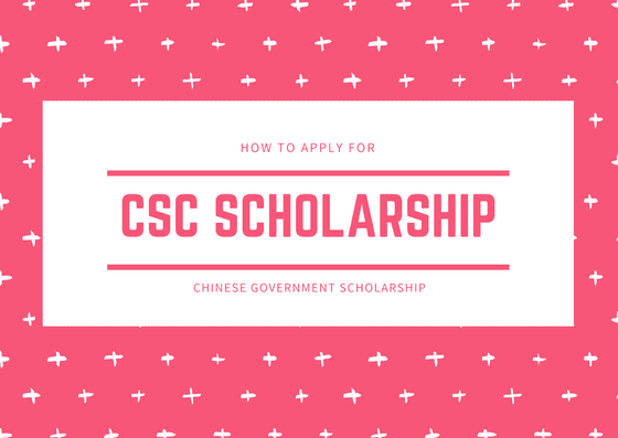 Chinese Government Scholarship 2019