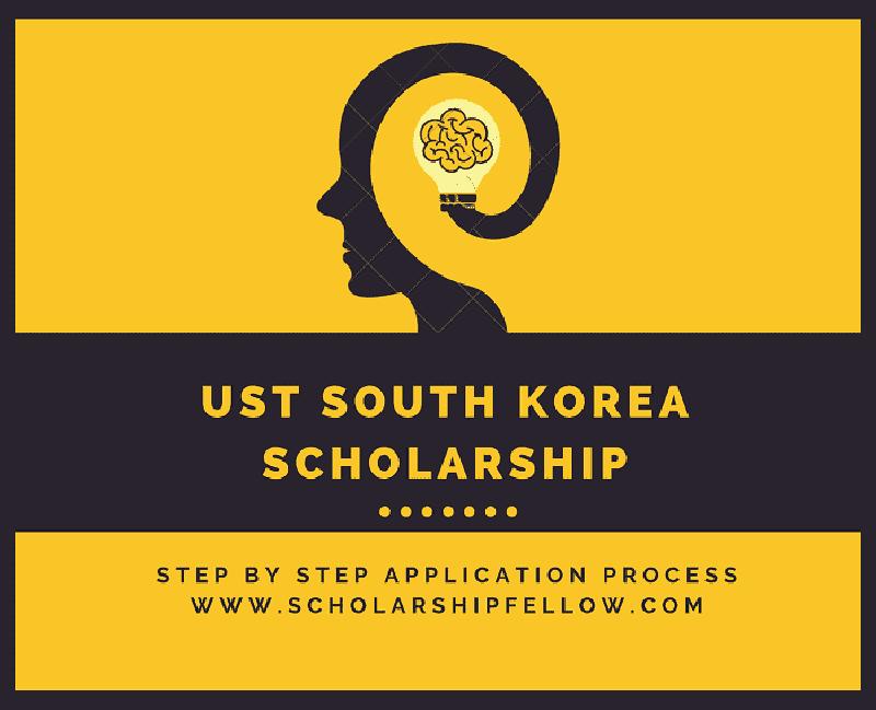 UST South Korea Scholarship 2019-2020