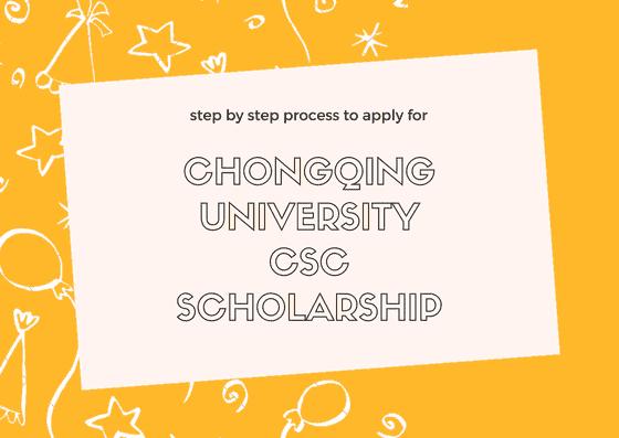 Chongqing University CSC Scholarship