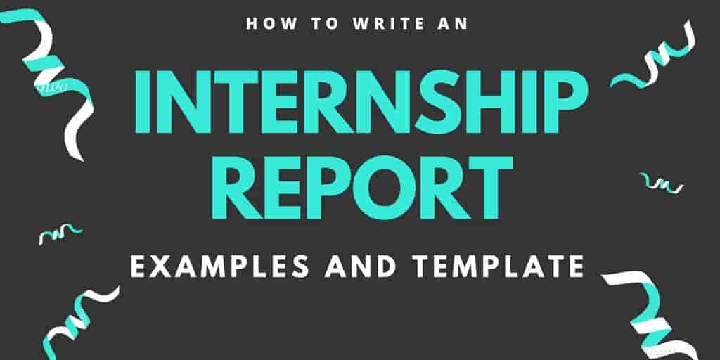 internship report sample marketing