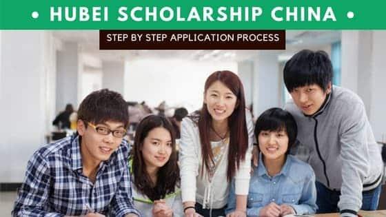 Hubei Province scholarship china