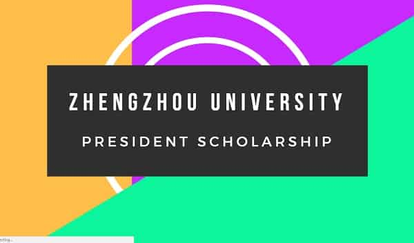 Zhengzhou university scholarship
