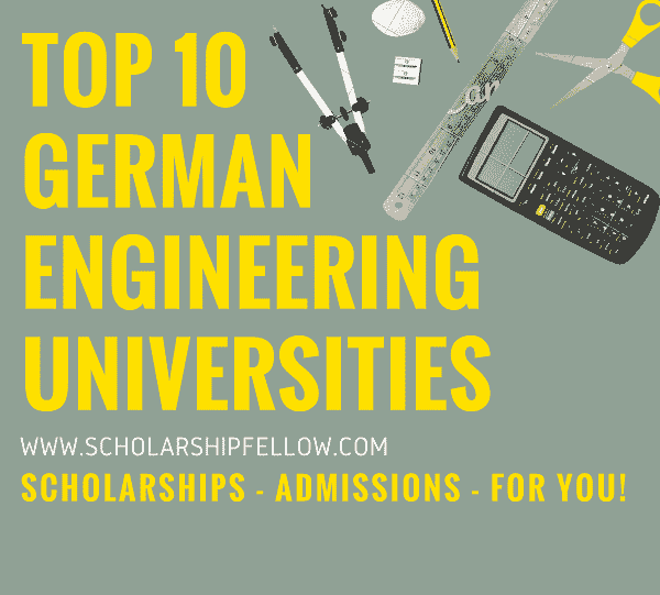 Top ten german engineering universities