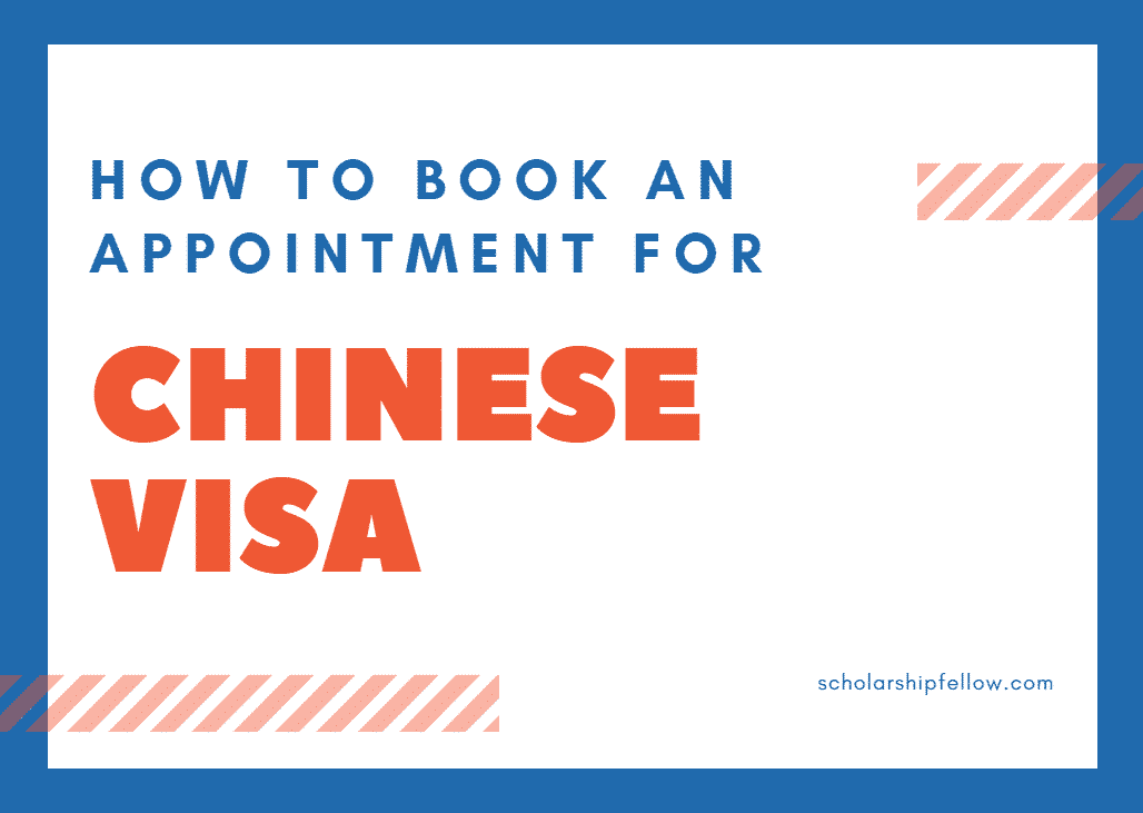 How to book an appointment for China Study Visa at Chinese Embassy Website-min