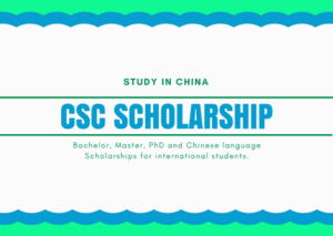 CSC Scholarships