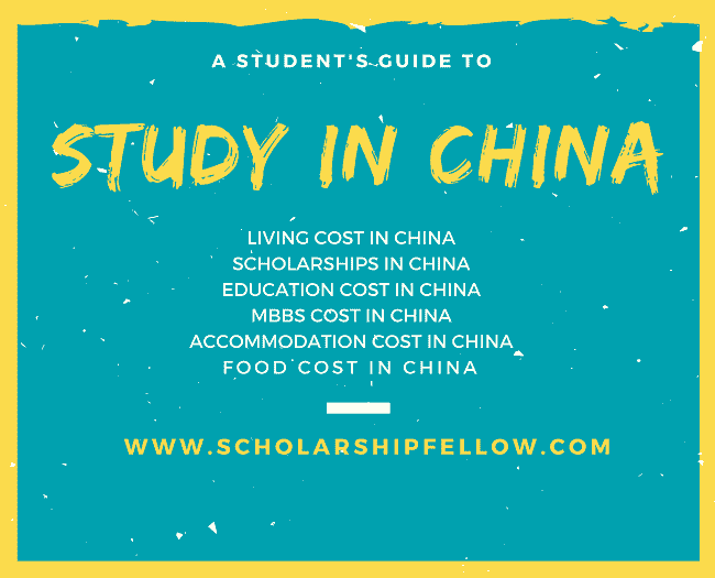 how to write a study plan for chinese scholarship