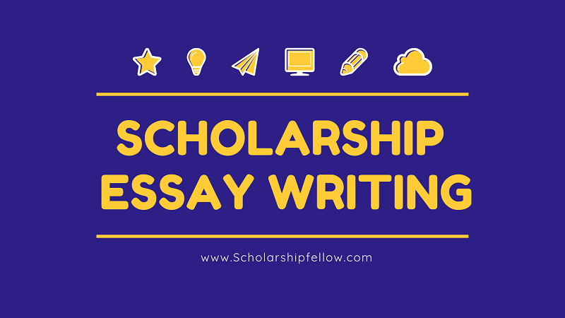 write your own essay scholarships