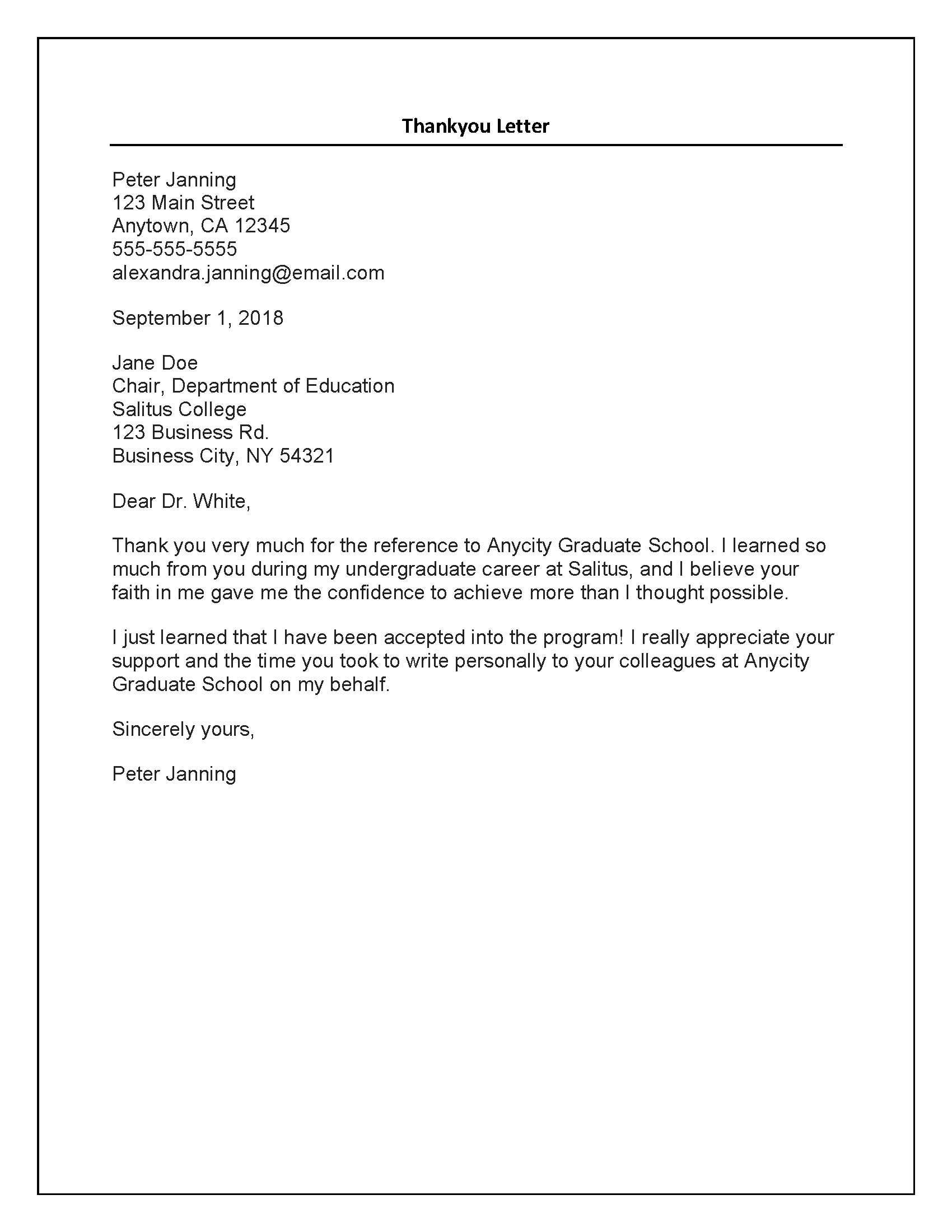 Letter Of Recommendation For A Teacher From A Colleague from scholarshipfellow.com