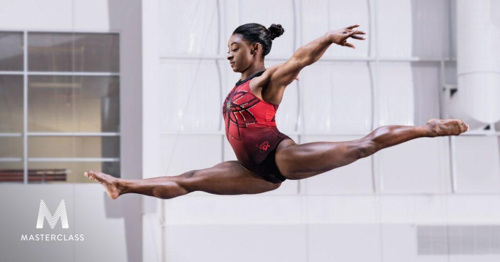 Simone Biles Teaches Gymnastics